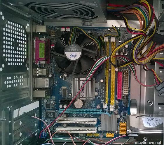 Các bước sửa máy tính không lên hình