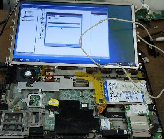 Các lỗi về màn hình laptop